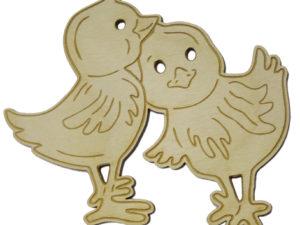 kurczaczki wielkanocna ozdoba